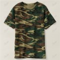 Mens Camo Short Sleeve T-Shirt