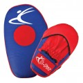 Red and Blue Leather Focus Pads