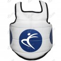 Synthetic Leather Chest Guard Belly Protector