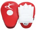 Red and White Leather Professional Focus Pads