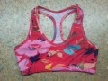 Ladies All Over Sublimation Printed Sports Bra
